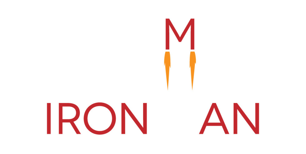 Iron Man - logo - lettering design