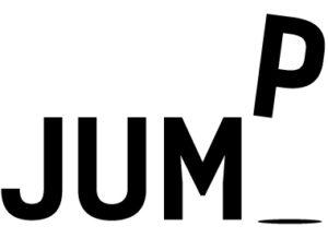 jump - lettering design