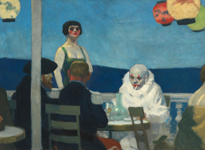 Sera Blu - Edward Hopper