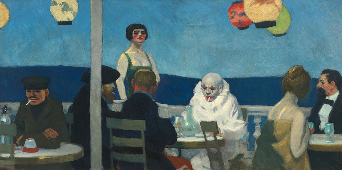 Sera Blu - Edward Hopper