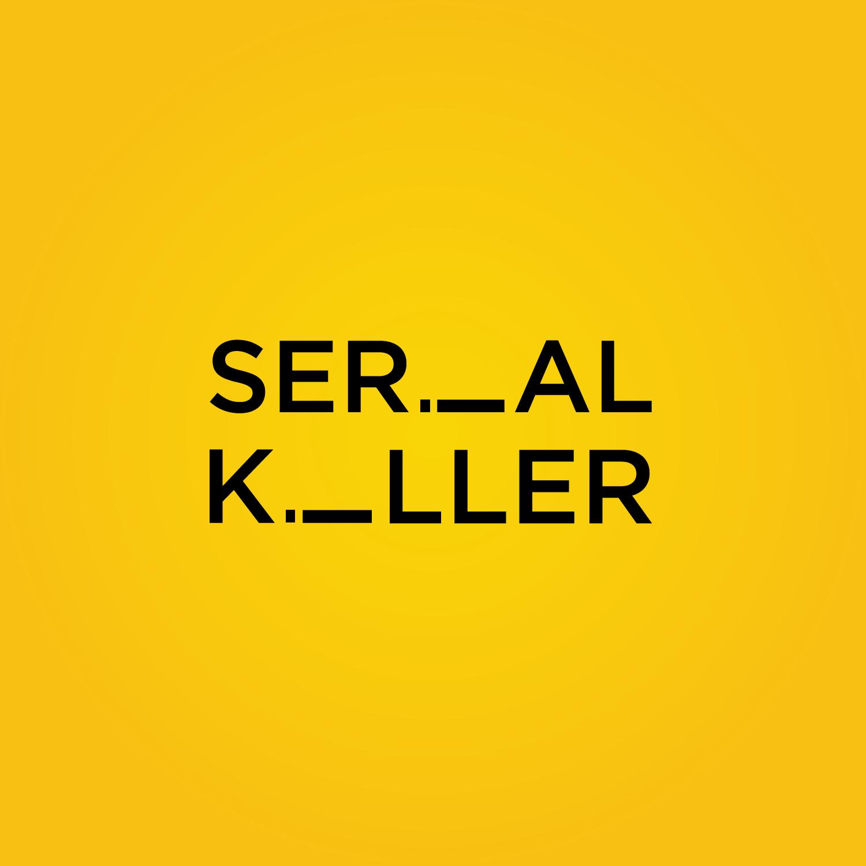 Serial killer lettering design