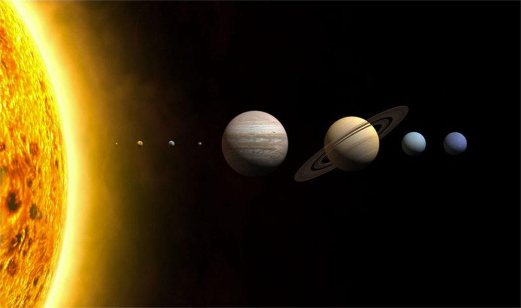 sistema solare fake