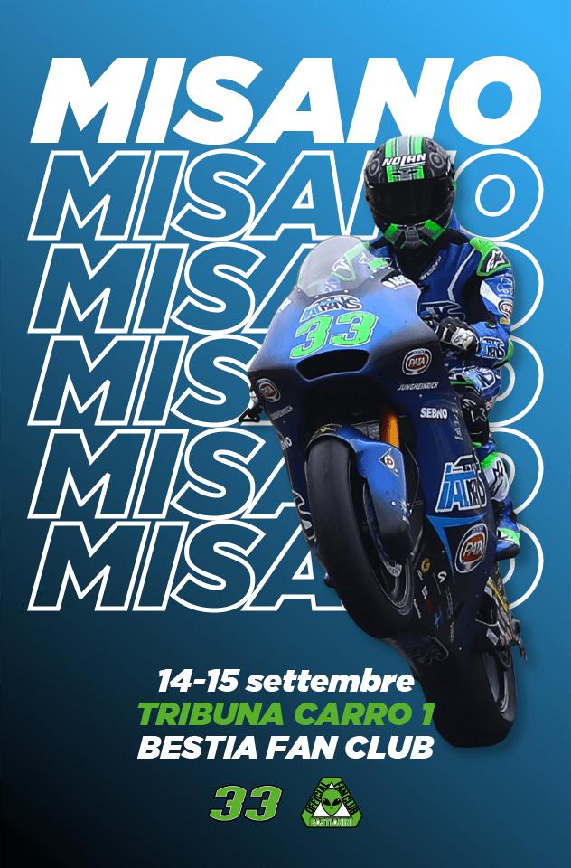 GP di San Marino e Riviera di Rimini - Poster Enea Bastianini